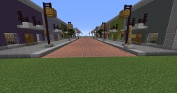 Small Downtown Minecraft Map & Project