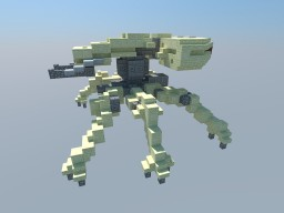 SPIDER TANK - GHOST IN THE SHELL Minecraft Map & Project