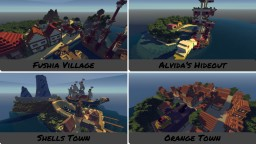 One Piece | Rising Destiny Islands Minecraft Project