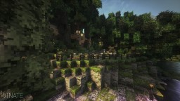 Small elven village Minecraft