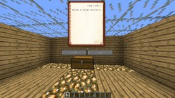 Invisible Block Parkour Minecraft Project