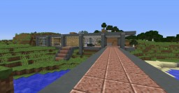 BvS Lake House Minecraft Map & Project