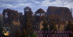 Medieval | Timelapse: Fort Ethenwulf #WeAreConquest Minecraft