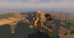 Desert Settlement Minecraft Map & Project