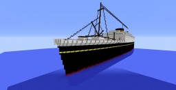 M.V. Britannic Minecraft Map & Project