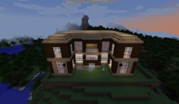 Wayne Manor and The Batcave Minecraft Map & Project