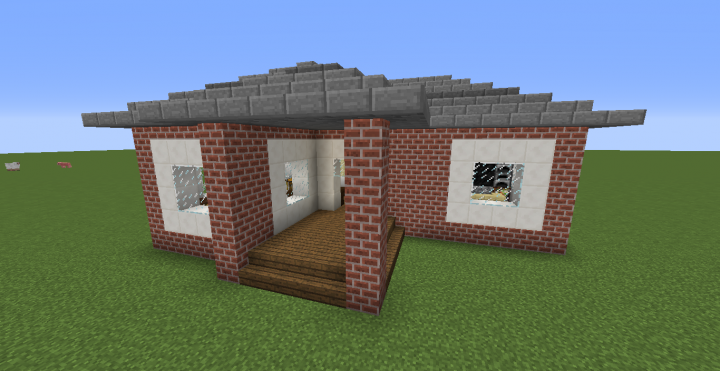 Small brick house minecraft project - Brick houses three beautiful economical projects ...