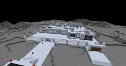 Small moon base Minecraft Map & Project