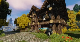 Medieval - Wolf's Head Inn Minecraft