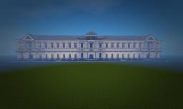 Trainstation design Minecraft Project