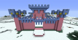 Pink Castle Minecraft Map & Project