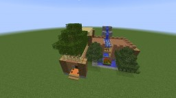 L-type double-decker villa Minecraft Project