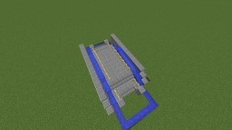 Mini Loop Water Bridge Minecraft Project