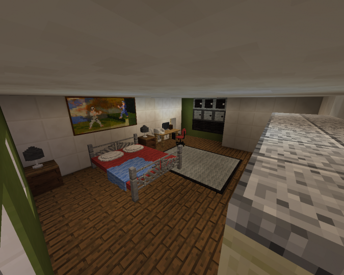 1 8 9 minecraft bedroom modded minecraft project