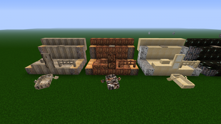 Half of the new wood types
