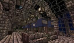 Lausanne - Wilson Station, Venetian Railways system Minecraft Map & Project