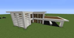 Small Quartz House Minecraft Map & Project