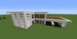 Small Quartz House Minecraft Project
