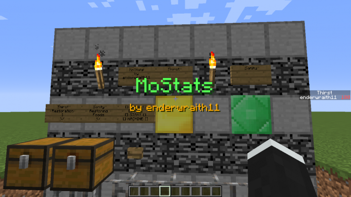 More Stats (No Mods) Minecraft Project