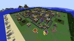 Clash of Clans Village Town Hall 9 Minecraft