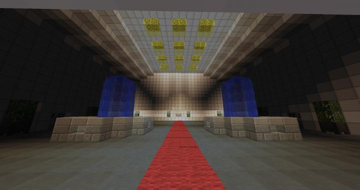 The Institute main lobby