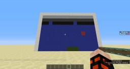Pong game with command blocks Minecraft Map & Project