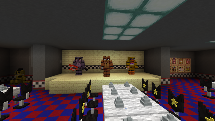 Fnaf 1 map minecraft download | [1 7 10] FNAF Mod Download  2019-02-21