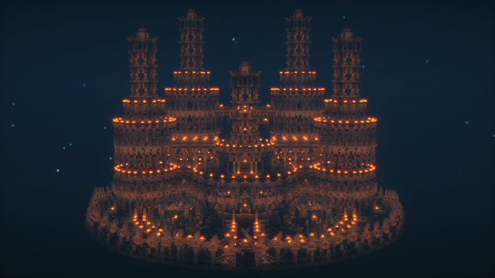 Nighttime Front View BSL Shaders