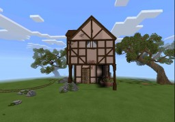 """Montagu's house"" -a large scale house Minecraft Map & Project"