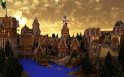 Amatus - Medieval Village Minecraft Project