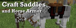 [1.12.2] Craft Saddles, Horse Armor,  Name Tags and Leads Minecraft Mod