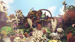 CubeCraftGames: Easter Hub Minecraft Map & Project