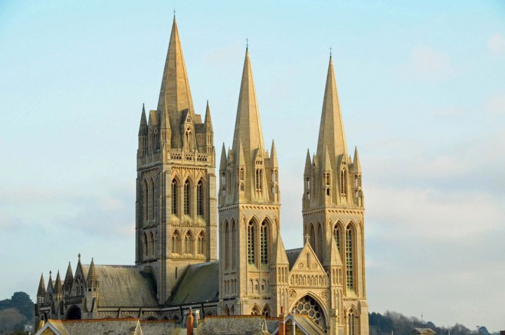 The Cathedral was inspired by Truro Cathedral