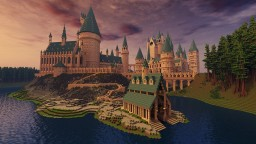 Hogwarts Castle on PotterworldMC Minecraft Project
