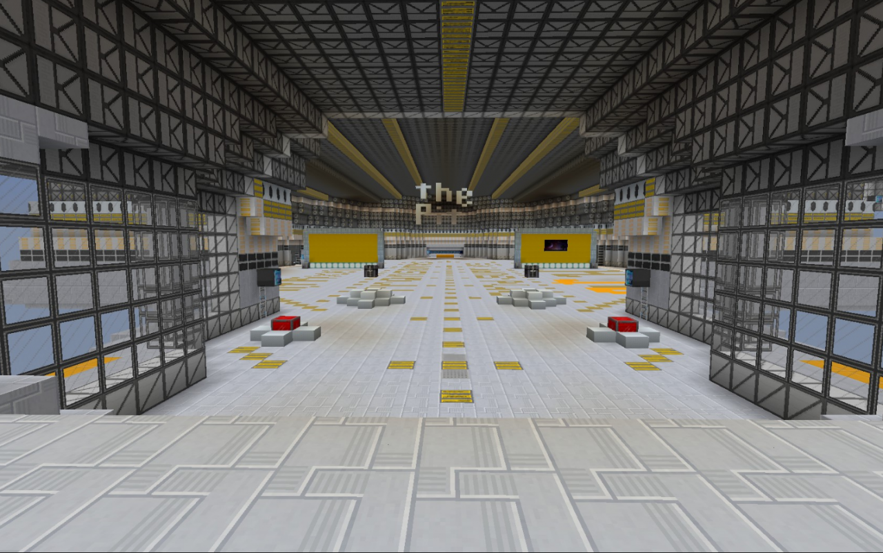 The Pit Hypixel Lobby fixed Minecraft Project