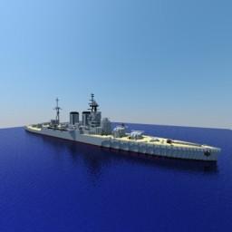 HMS Hood Minecraft