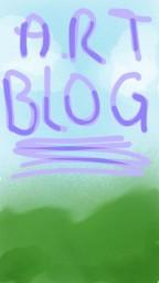 First Art Blog! Minecraft Blog