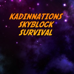 KadinNation`s Skyblock Survival Minecraft Map & Project