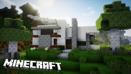 How To Build A Beautiful Modern House Minecraft Project