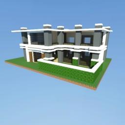 Mayfair, a Modern House Minecraft Map & Project