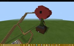 MY GIANT FLOWER :-) Minecraft Project