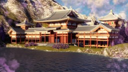 [GN] The Phoenix Hall of Byodo-in, and more East Asian buildings Minecraft