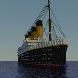 RMS Titanic 2017 Project (1.10) Minecraft Map & Project