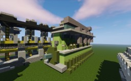 Low Speed Ship Diesel Engine Minecraft Map & Project