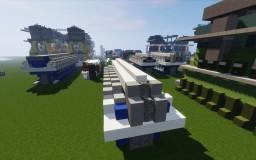 Medium Speed Ship Diesel Engine Minecraft Map & Project