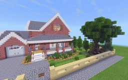 Small Traditional House Minecraft Map & Project