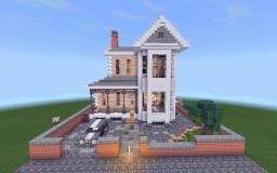 Small Victorian Styled House Minecraft Map & Project