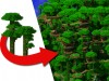 Tribe Jungle Village - Tree Houses Minecraft Map & Project