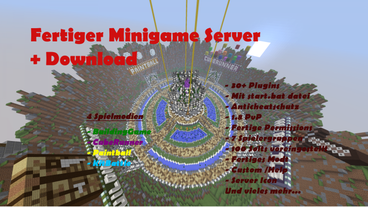 minecraft minigames server download