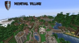 Medeval City! Minecraft Map & Project